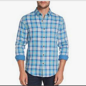 Men's Vineyard Vines Tucker Plaid Flannel Sz M